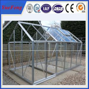 China OEM China leading aluminium profile manufacturer of greenhouse aluminum profile on sale