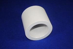 China MgO-ZrO2 Zro2 Ceramic / Zirconium Oxide Ceramic Tube 25000 Kgf/cm2 Compressive Strength on sale