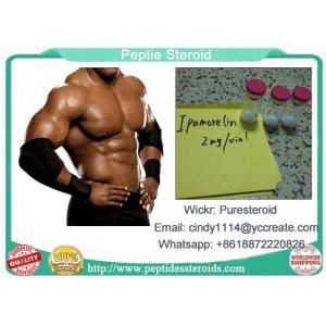 China Bodybuilding Peptide Hormones Ipamorelin 2mg Per Vial  For Muscle Growth on sale