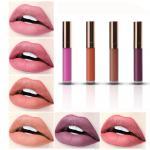 Beauty Lip Makeup Products Matte Lipgloss Easy Wear Velvet Metal Lipstick Moisturizing Cosmetics