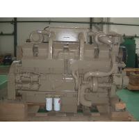 Water Cooled 38L 12 Cylinder Mechanical Diesel Engine 4 Stroke , Marine Diesel Motor