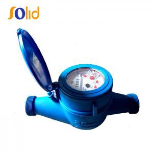 China Plastic (nylon) type cold multi jet wet type water meter on sale