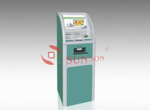 China Ads Display Retail Payment Dual Screen Kiosk Outdoor Indoor A4 printer on sale