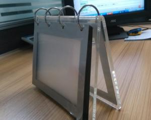 China Acrylic Desktop calendar stand / Clear Desktop Picture Holder on sale