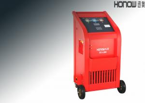 China Fully automatic A/C Refrigerant Recovery And Charging Machine With Database Search on sale