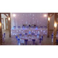 3x3m led light starry sky lighting wedding backdrop led starcloth components