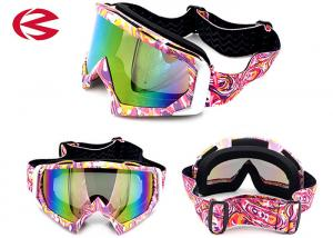 China Customzied Strap Cool Motorcycle Riding Goggles , Motorcycle Glasses Transition Lenses on sale