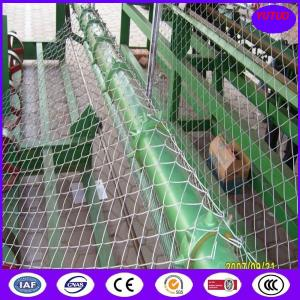 China Low carbon iron wire material and chain link mesh type chain link wire mesh on sale