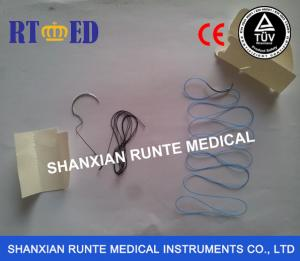 China CE&ISO Certified Braided SILK Suture,Sterile Disposable Hospital Surgical Medical Suture(Catgut/PGA/PGLA/PDO/Nylon) on sale
