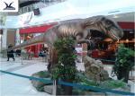 Customizable Large Dinosaur Garden Statues Assembling And Handmade Techinics