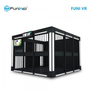 China Black Space Room VR Shooting Simulator 3650 * 3650 * 2600mm Size 3 Games on sale