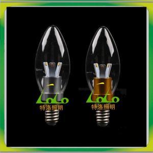 China TOLO LED COB Candle Light,360d,E12 E14 E17 E26 E27, on sale