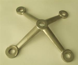 China OEM Lost Wax Precision Investment Casting for Chair Base Components on sale