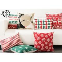 Christmas Decor Santa Claus Pillows Christmas Decorative Throw Pillow Case Sofa Home