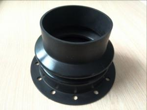 China Oil Resistant Customized Molded Rubber Parts NBR Rubber Bellow for Bathroom on sale