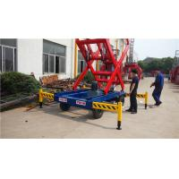 China 0.75 Kw Mobile Aerial Work Platform 3m electrical adjustable on sale