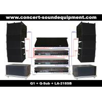 """480W Full Range Line Array Speaker With 1.4""""+2x10"""" Neodymium Drivers For Concert And Installation"""