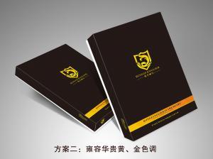 China Black Printed Cardboard Mens Shirt Packaging Box Glossy / Matt Lamination on sale
