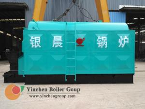 China Automatic Horizontal Steam Boiler Chain Grate Stoker Water and Fire Tube on sale