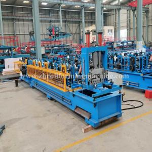 China Machinery Metal Hydraulic C Purlin Roll Forming Machine Steel Roof Truss Making on sale