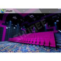 China Cinemas locais do som da vibração do negócio com a cadeira vermelha de SV do movimento on sale