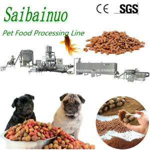 China Factory Price Full Production Line Animal Feed Pet Food Processing Machinery on sale