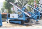 Equipamento de perfuração da âncora da esteira rolante de XITAN MDL-150D (empilhamento da máquina de perfuração do poço de água único/tubo do dobro/se triplicar)