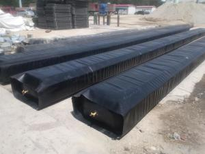 China Concrete planter forms 0.6 to 1.2m diameter concrete pipe culvert making balloon on sale