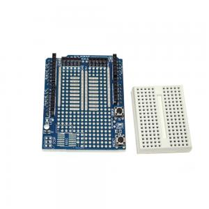 China Prototyping PCB Prototype Shield UNO R3 ProtoShield With Mini Breadboard on sale
