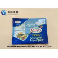 Oxygen Resistant 3 Side Heat Seal Plastic Bags for Sea Food Packaging CE / ROHS