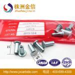 Alto hielo de la astilla del carburo de la cantidad JX9-15-1 que compite con los pernos prisioneros antirresbaladizos de los neumáticos para los coches