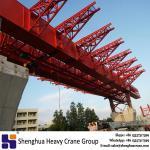 China 600 ton underslung movable scaffolding system machine high-speed railway bridge erection