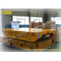 Steel Box Structure Rail Transfer Cart / Heavy Load Cart 0 ~ 20 M Per Minute