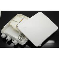 SC LC Outdoor Fiber Optic Termination Box , FTTX  Fiber Optic Distribution Box
