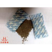 Odorless Moisture Proof Mineral Desiccant 10g Non Woven Packing With Round Granular