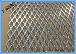China Flattened Expanded Metal Stainless Steel Mesh Diamond Pattern Fit Beekeeping on sale