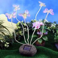 new style crystal ball solar garden light