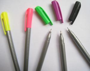 China fine tip triangular fineliner pen,triangular fineliner marker pen on sale
