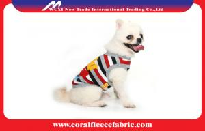 China Boy Dog or Girl Dog Cute Pet Clothes with Caribbean Sailor Style , Custom Dog Products on sale