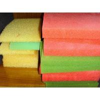 Dustproof Mesh Air Filter Foam Sheets , Polyurethane Cutting Sponge Foam Good hydrophilic