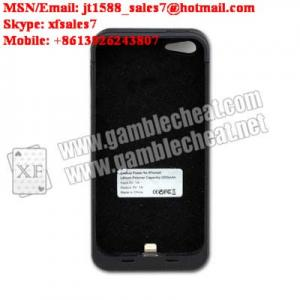 China XF Iphone 5 charger case camera for poker analyzer on sale