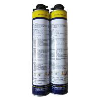 China Fire Proof Polyurethane Foam Sealant Expanding Spray Foam Insulation Gap Filler on sale