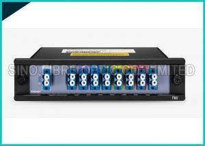 China 1 X 8 Channels 1310nm Singlemode Fiber Optic Splitter CWDM Mux / Demux Modules on sale