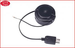 China One Way 40cm Retractable Micro USB Cable / Retractable Extension Cord on sale