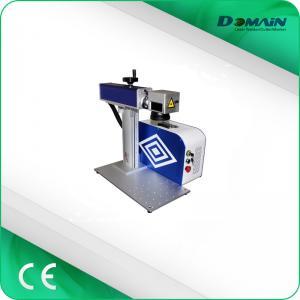 China High Speed Laser Logo Printing Machine , Fiber Laser Metal Engraving Marking Machine on sale