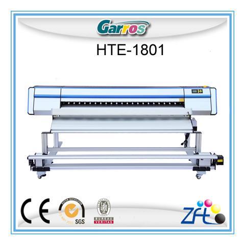 Garros 1 8meters dye sublimation paper printing/printer
