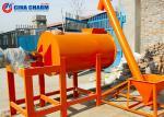 Automatic Horizontal Concrete Mixer , Ready Mix Concrete Mixing Equipment
