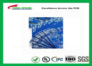 China Blue Solder Mask Double Sided PCB FR4 1.6mm Board Thickness , Making PCB Boards on sale