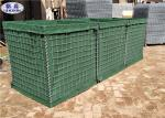 Q195/Low Carbon Steel Wire Military Hesco Sand Filled Barriers Hole Size 3 * 3