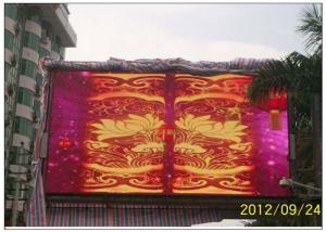 China Die Casting Cabinet Outdoor Advertising LED Display / Outdoor Led Screen Hire on sale